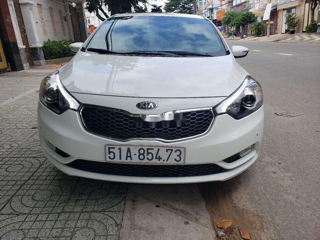 Bán ô tô Kia K3 năm sản xuất 2014, màu trắng còn mới (1)