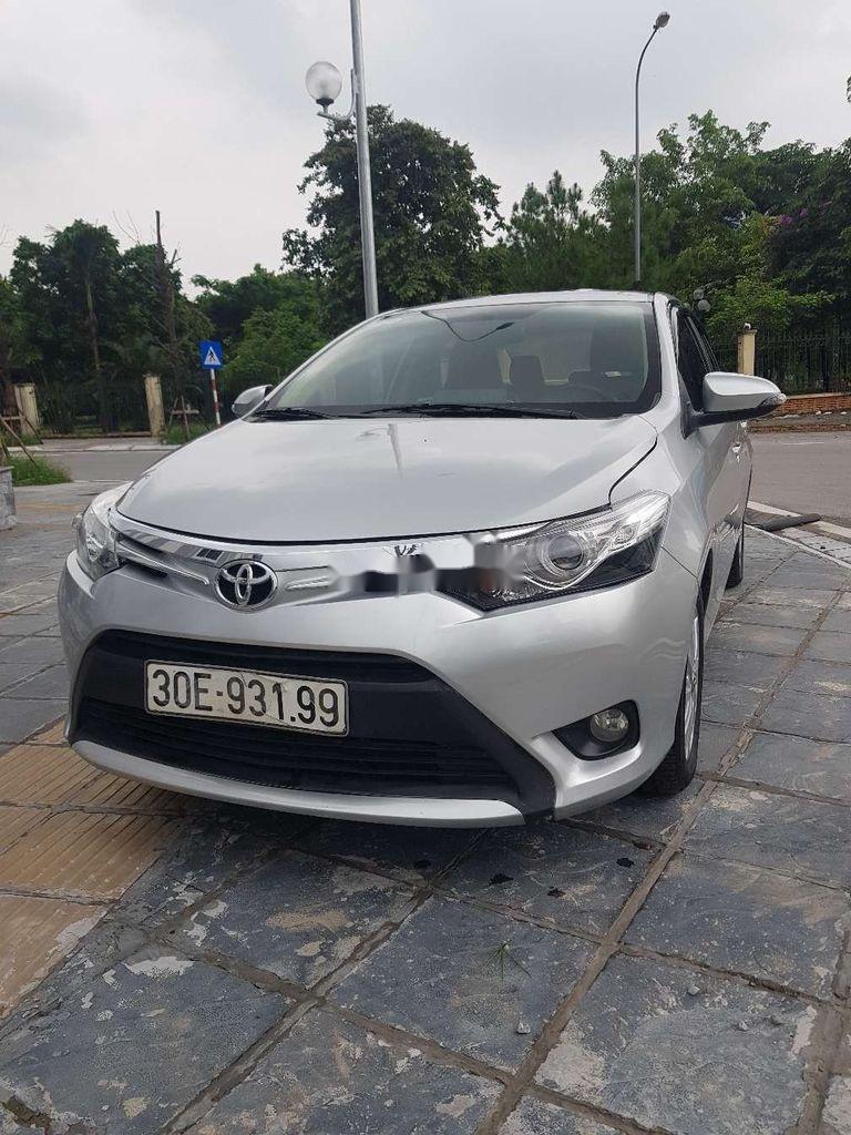 Bán xe Toyota Vios năm sản xuất 2017, màu bạc (3)