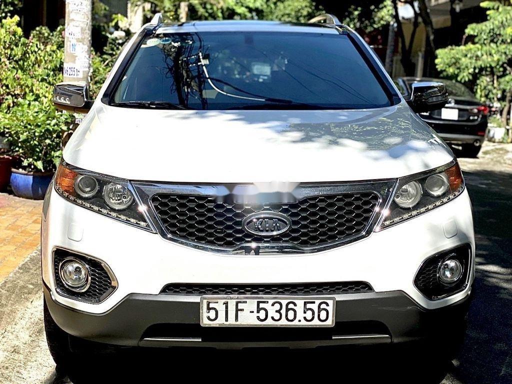 Bán xe Kia Sorento 2012, màu trắng còn mới (1)
