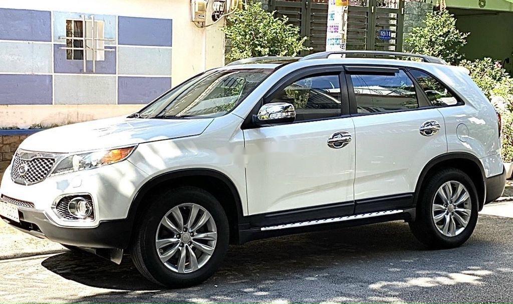 Bán xe Kia Sorento 2012, màu trắng còn mới (2)