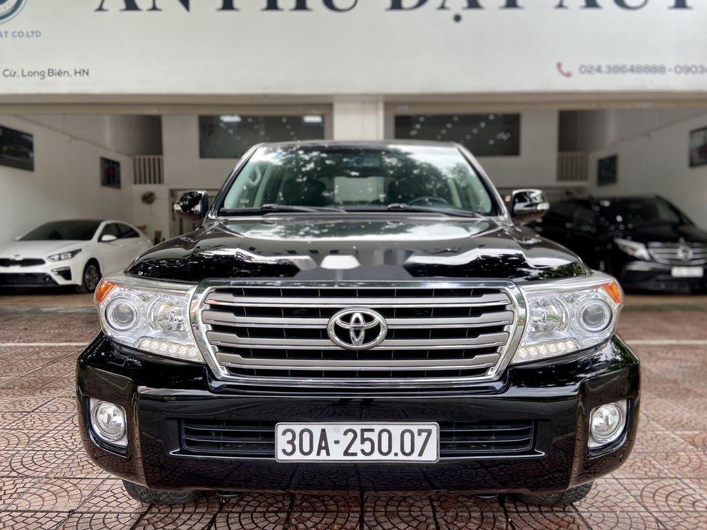 Bán Toyota Land Cruiser đời 2014, màu đen, xe nhập (1)