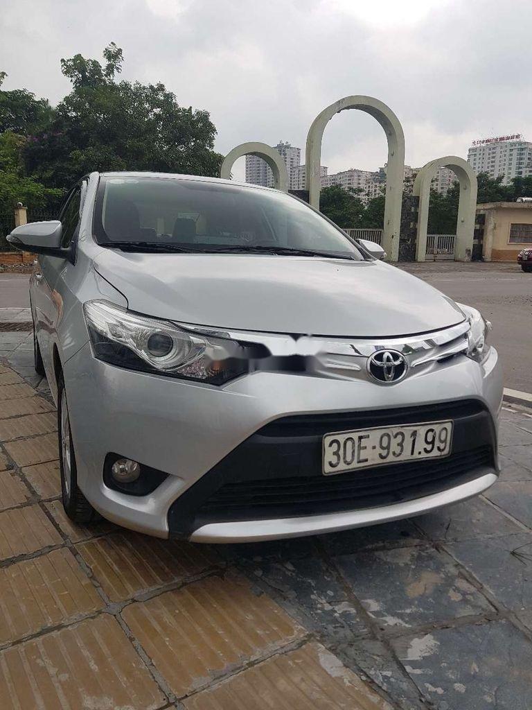 Bán xe Toyota Vios năm sản xuất 2017, màu bạc (1)