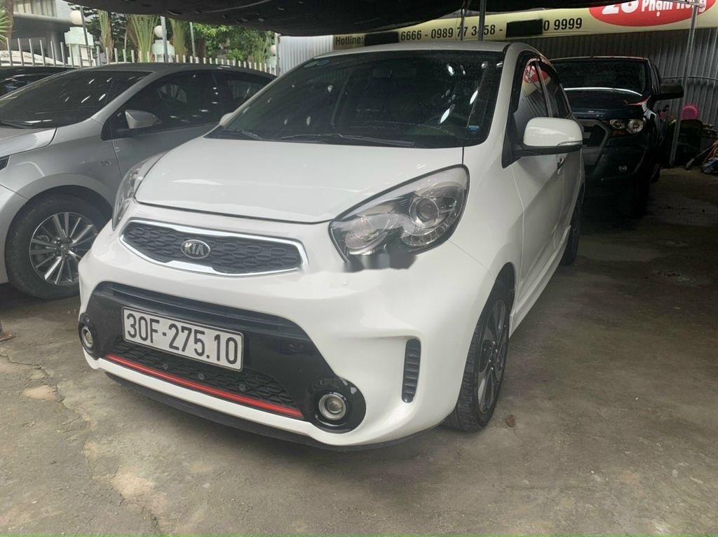 Bán xe Kia Morning sản xuất năm 2018, màu trắng chính chủ, 342tr (1)