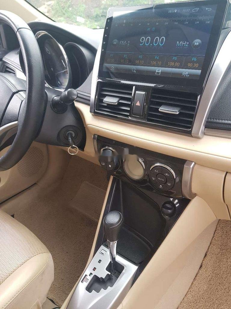 Bán xe Toyota Vios năm sản xuất 2017, màu bạc (8)