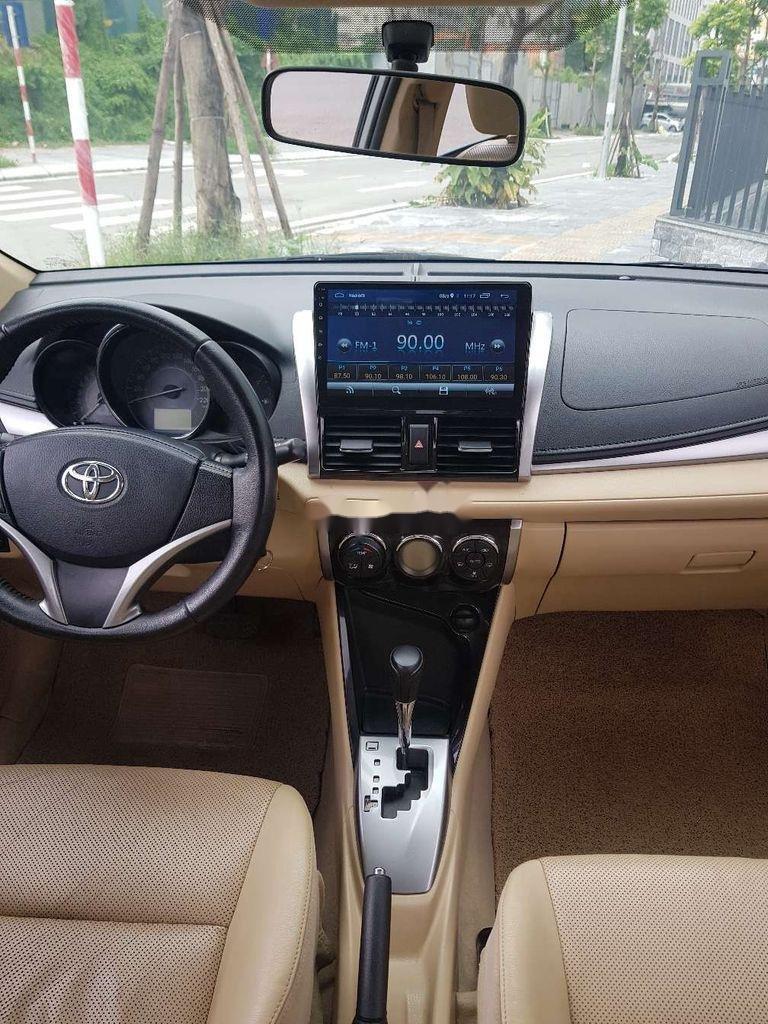 Bán xe Toyota Vios năm sản xuất 2017, màu bạc (10)