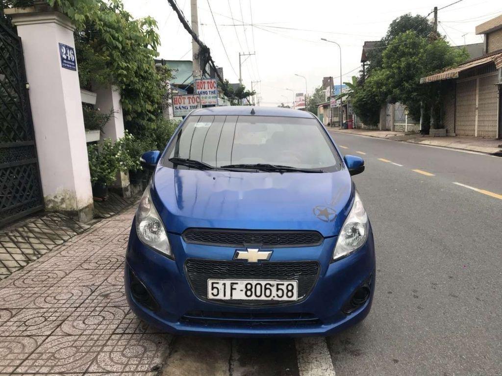 Bán Chevrolet Spark 2016, màu xanh lam còn mới (1)
