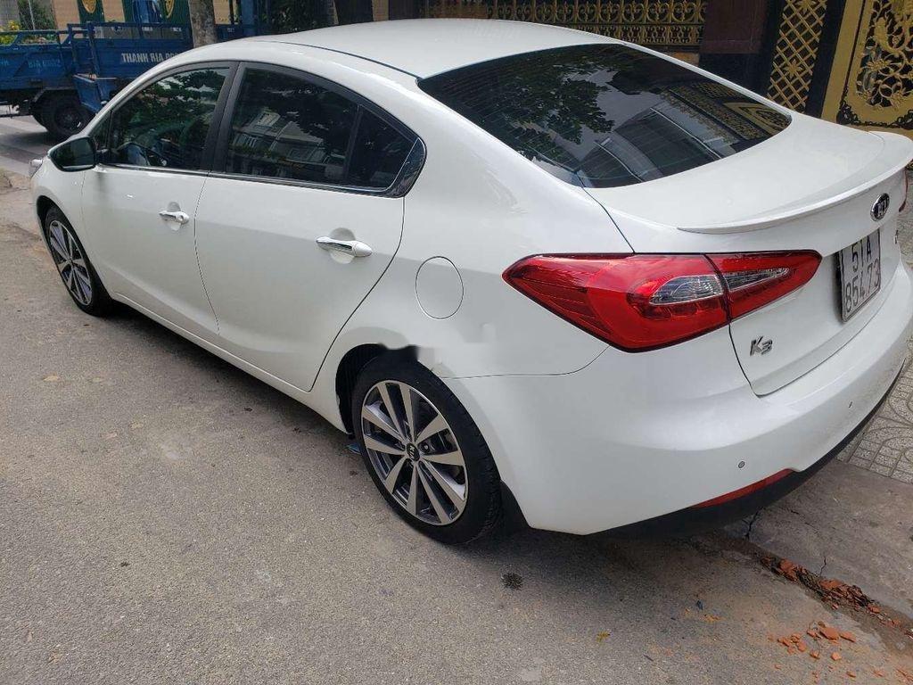 Bán ô tô Kia K3 năm sản xuất 2014, màu trắng còn mới (10)