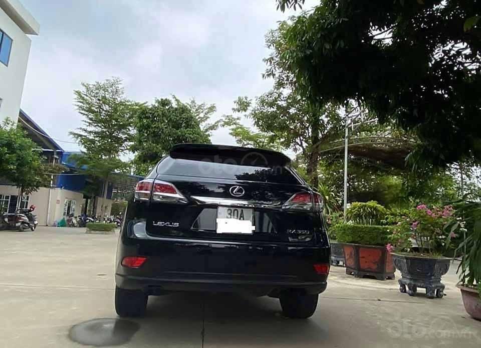 Bán xe Lexus RX 350 đời 2015, màu đen, xe nhập còn mới (4)