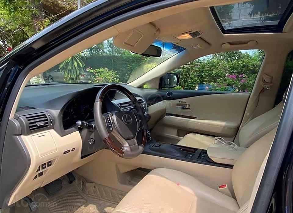 Bán xe Lexus RX 350 đời 2015, màu đen, xe nhập còn mới (2)