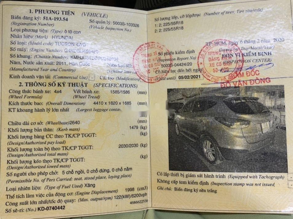 Cần bán Hyundai Tucson 2011, màu xám, nhập khẩu nguyên chiếc chính chủ (3)