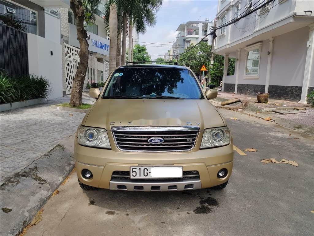 Bán Ford Escape đời 2004, màu vàng, xe chính chủ, 240 triệu (1)