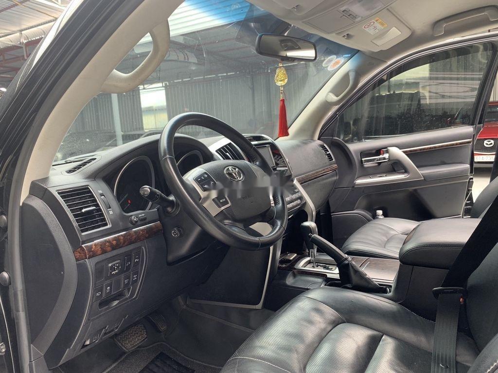 Bán Toyota Land Cruiser đời 2014, màu đen, xe nhập (8)