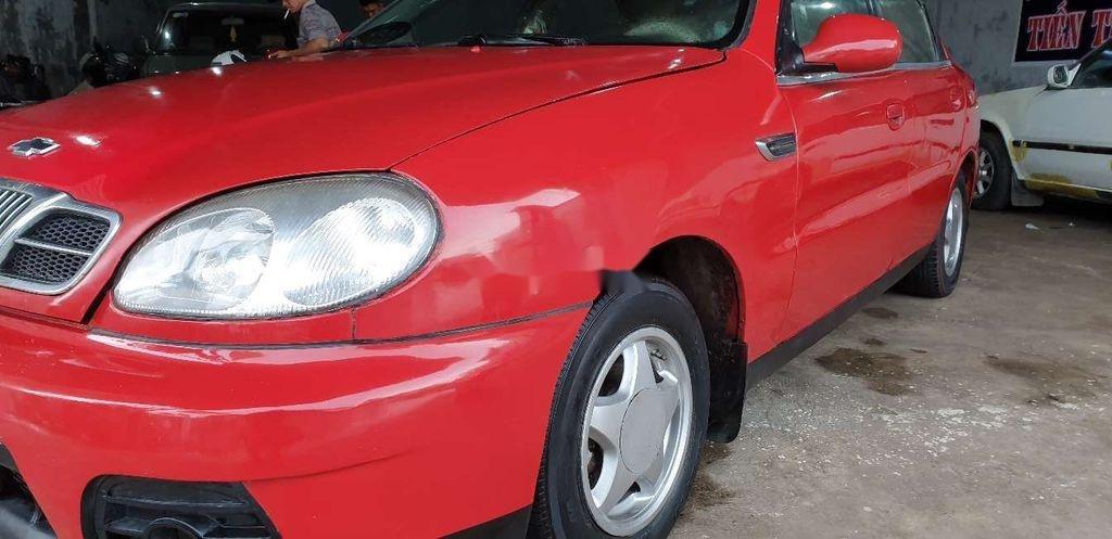 Bán xe Daewoo Lanos năm sản xuất 2000, màu đỏ (6)