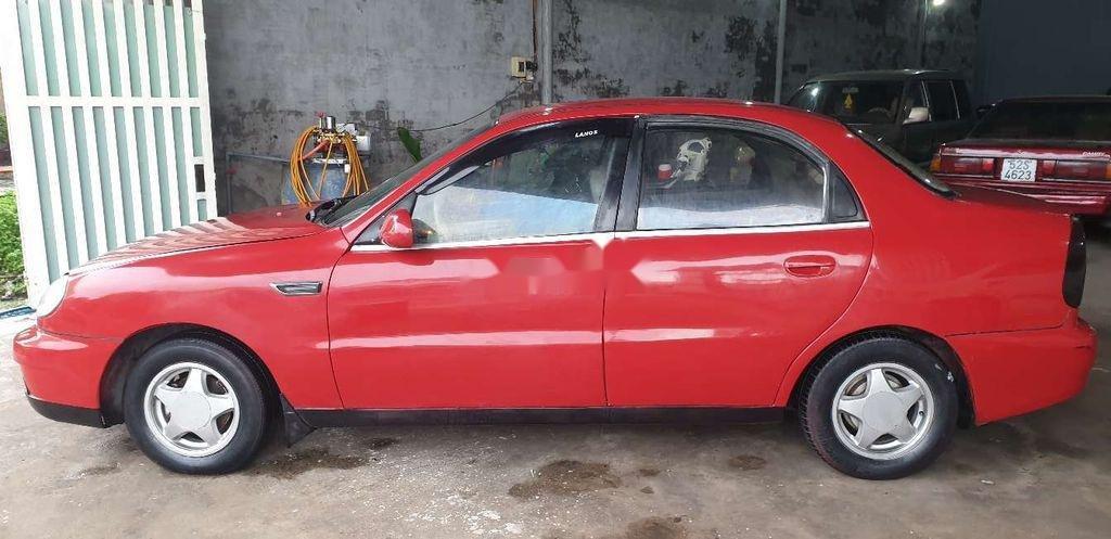 Bán xe Daewoo Lanos năm sản xuất 2000, màu đỏ (2)