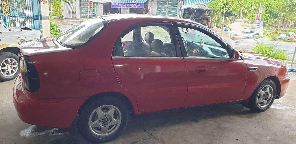 Bán xe Daewoo Lanos năm sản xuất 2000, màu đỏ (4)