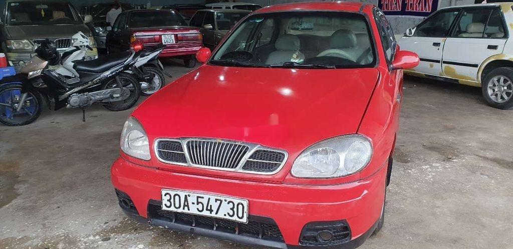 Bán xe Daewoo Lanos năm sản xuất 2000, màu đỏ (1)