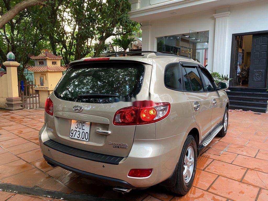 Cần bán Hyundai Santa Fe đời 2008, nhập khẩu nguyên chiếc, giá 340tr (5)