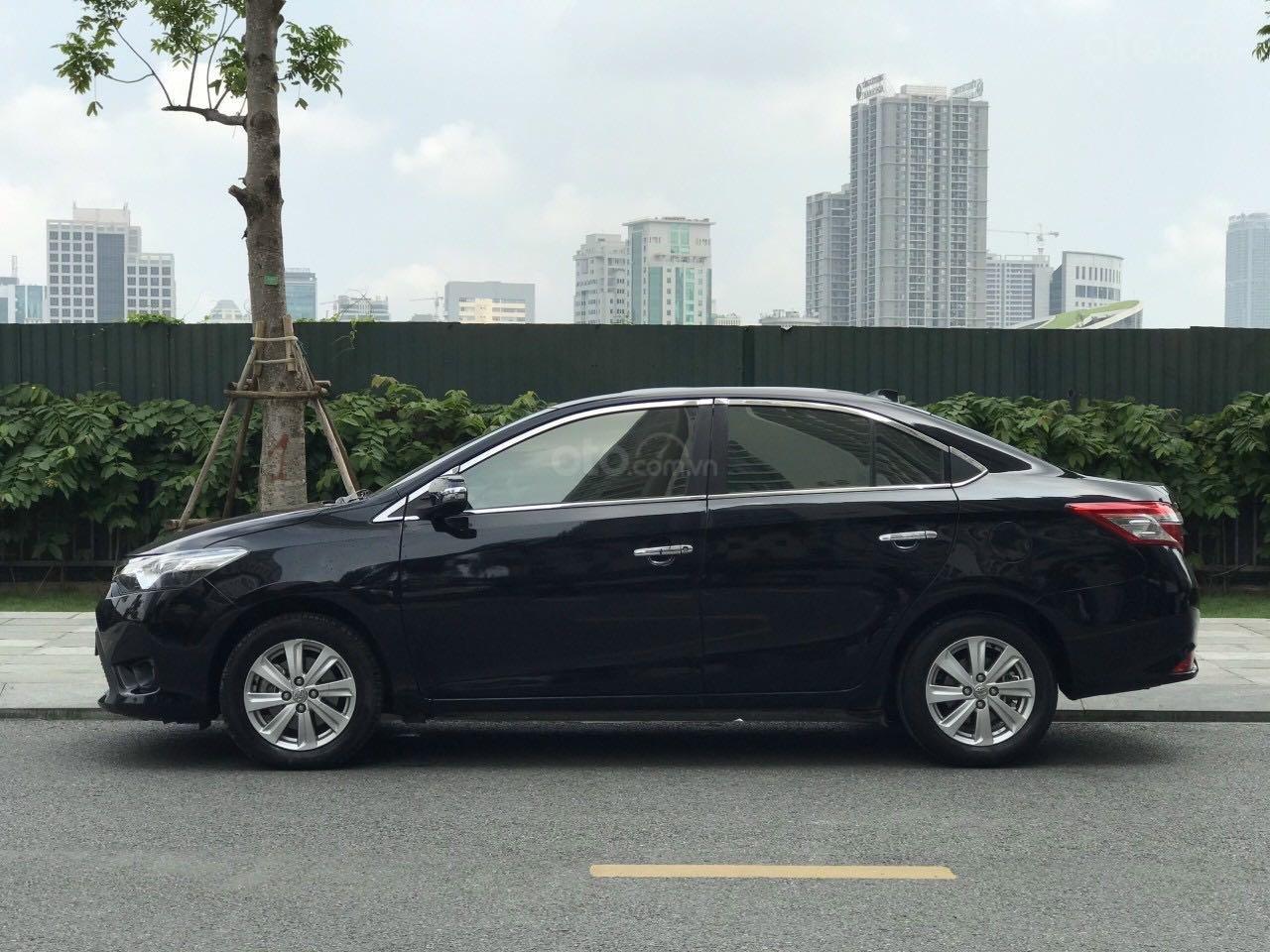 Bán ô tô Toyota Vios đăng ký 2016, màu đen còn mới, giá tốt 465 triệu đồng (2)