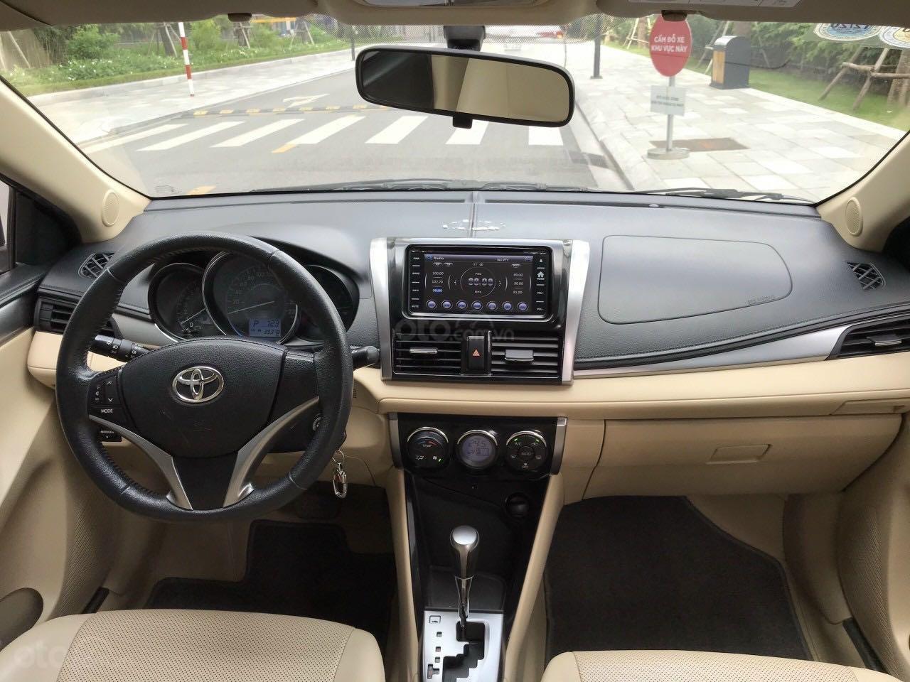 Bán ô tô Toyota Vios đăng ký 2016, màu đen còn mới, giá tốt 465 triệu đồng (4)