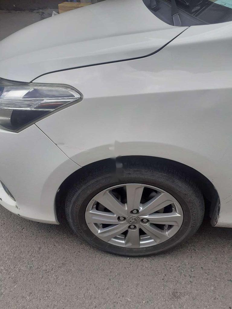 Bán xe Toyota Vios E đời 2016, màu trắng giá cạnh tranh (4)
