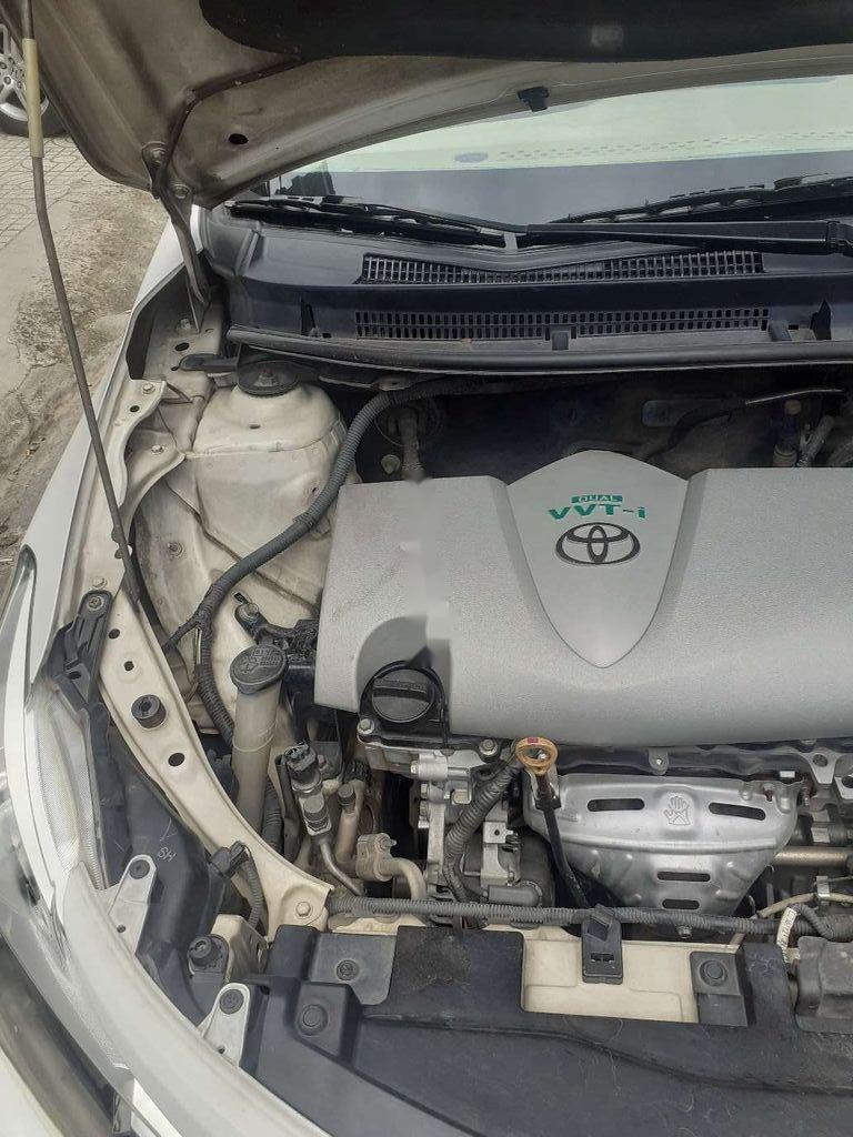 Bán xe Toyota Vios E đời 2016, màu trắng giá cạnh tranh (7)