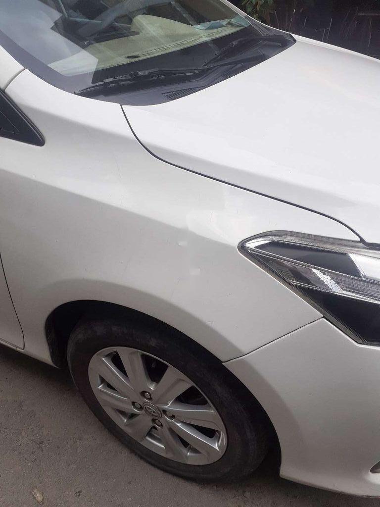 Bán xe Toyota Vios E đời 2016, màu trắng giá cạnh tranh (6)