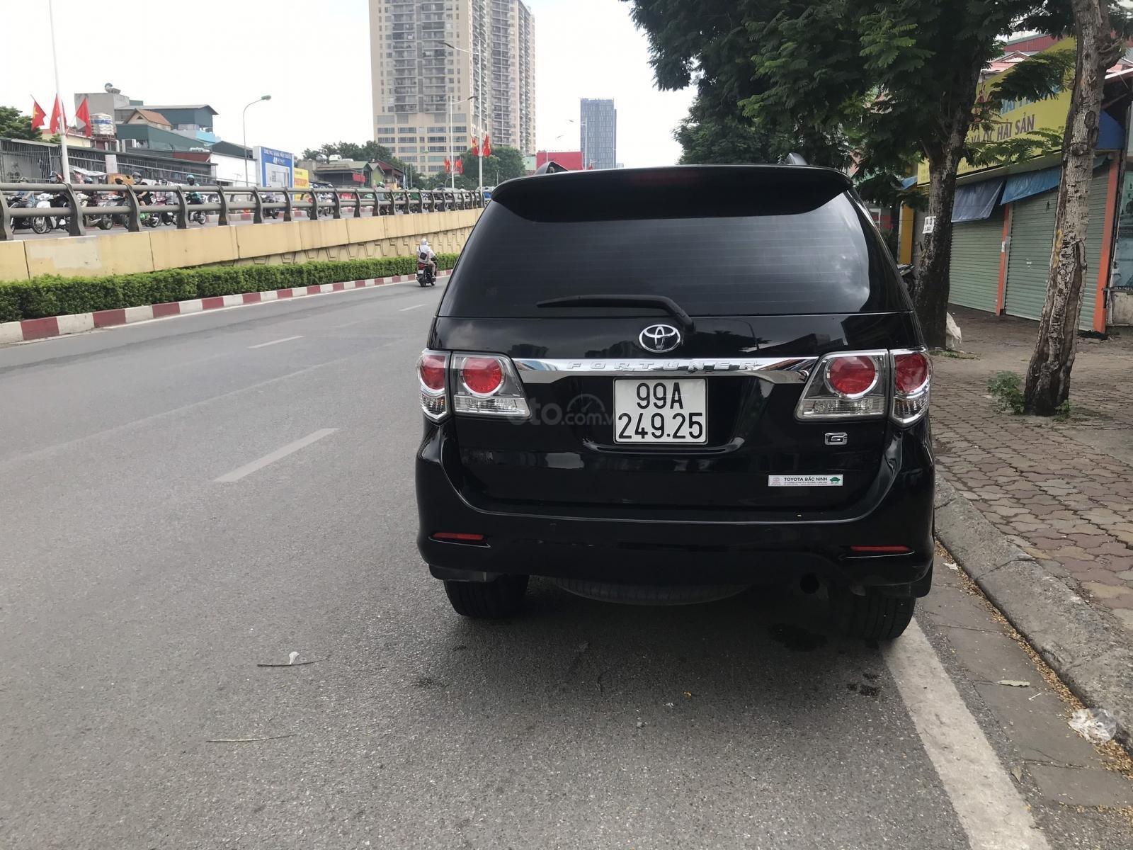 Toyota Fortuner SX 2014 máy dầu 2.5, xe đẹp, máy tươi, bán xe có bảo hành (2)