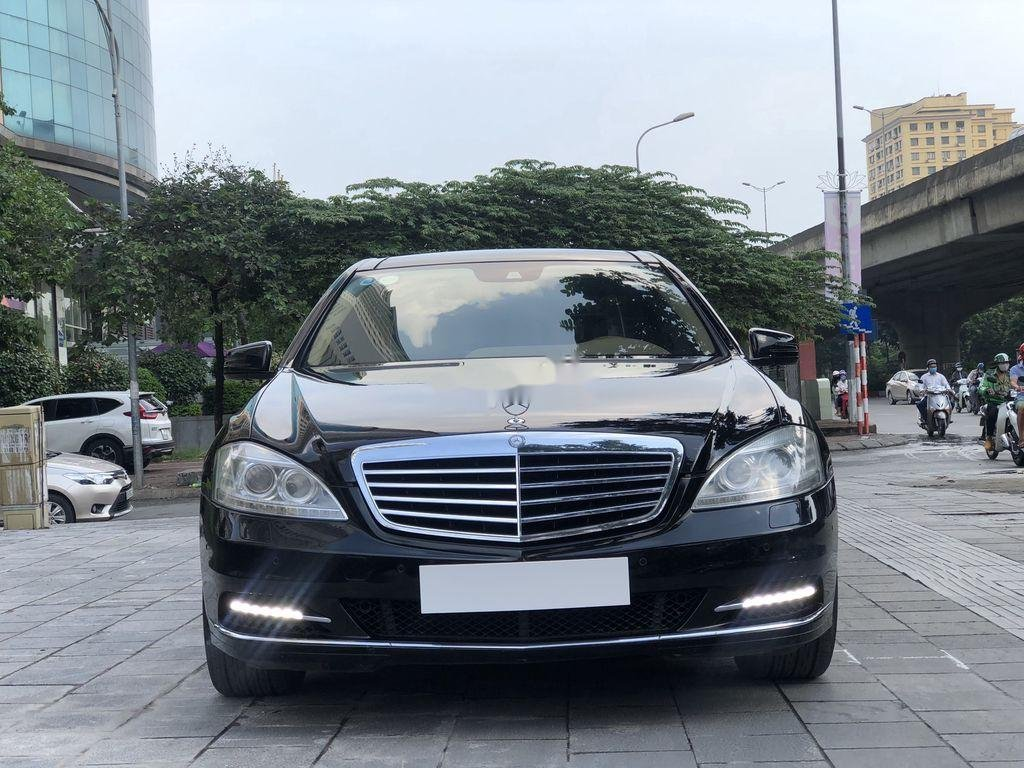 Cần bán xe Mercedes S500 năm sản xuất 2010, màu đen, nhập khẩu   (1)