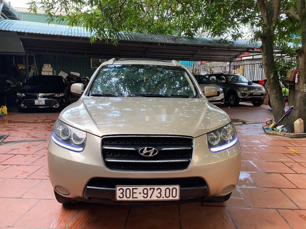 Cần bán Hyundai Santa Fe đời 2008, nhập khẩu nguyên chiếc, giá 340tr (2)