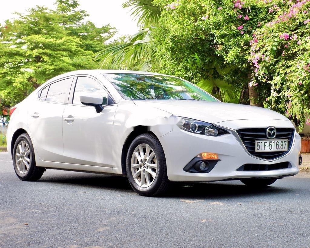 Cần bán xe Mazda 3 đời 2015, màu trắng, 489tr (1)