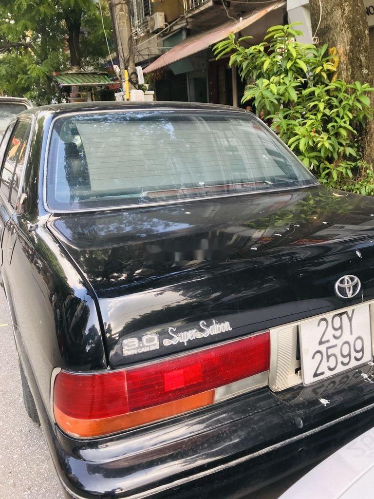 Bán Toyota Crown đời 1993, màu đen, xe nhập (12)