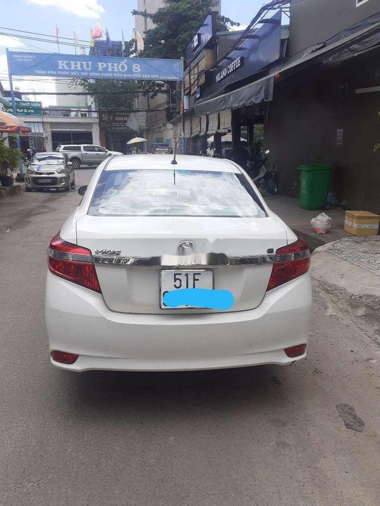 Bán xe Toyota Vios E đời 2016, màu trắng giá cạnh tranh (2)