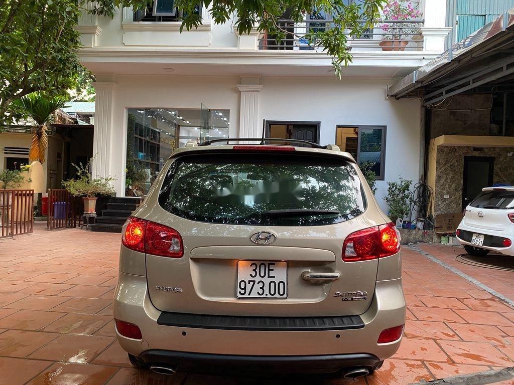 Cần bán Hyundai Santa Fe đời 2008, nhập khẩu nguyên chiếc, giá 340tr (1)
