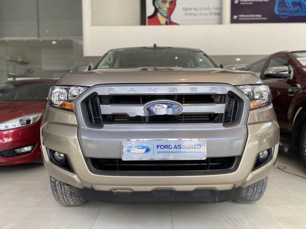 Cần bán lại xe Ford Ranger đời 2016, màu ghi vàng (10)