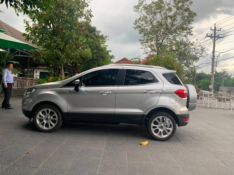Bán xe Ford EcoSport sản xuất 2019, màu bạc còn mới, giá tốt (1)