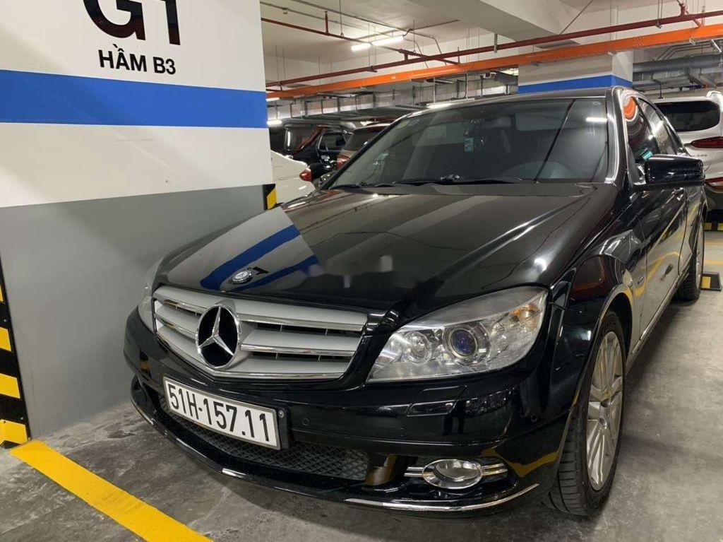 Cần bán gấp Mercedes C230 đời 2009, màu đen còn mới  (1)