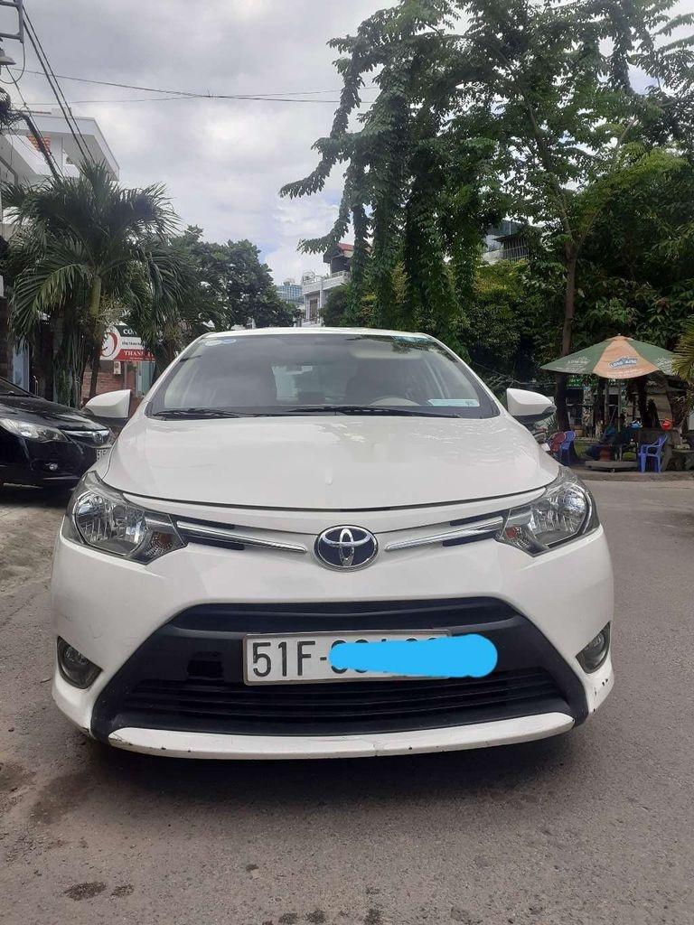 Bán xe Toyota Vios E đời 2016, màu trắng giá cạnh tranh (1)