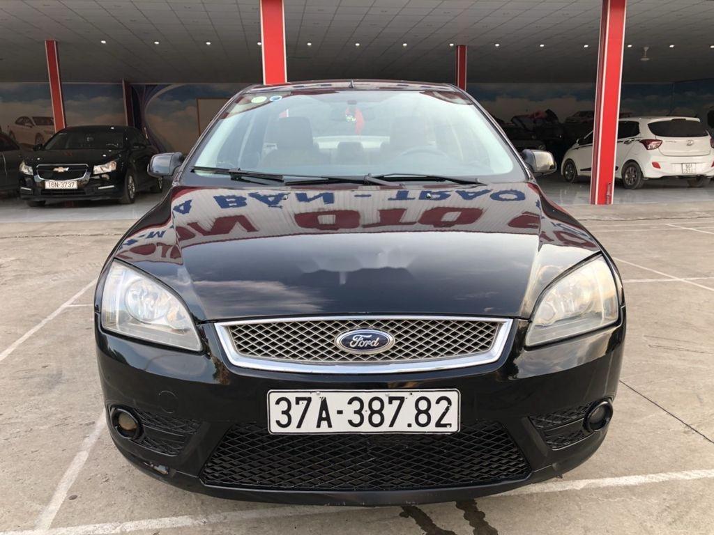 Cần bán Ford Focus sản xuất năm 2007, màu đen, nhập khẩu nguyên chiếc  (3)