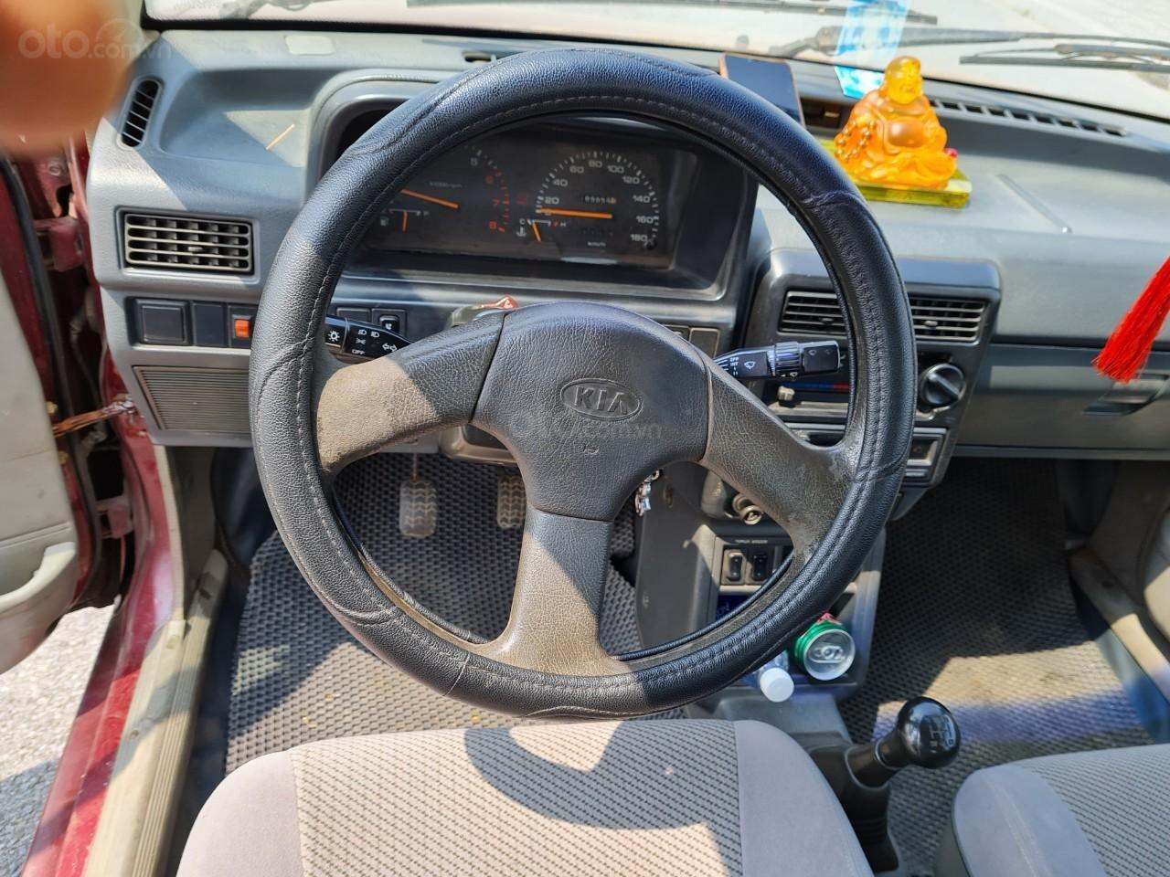 Cần bán Kia Pride GTL, SX 2001, máy xăng, nhập khẩu, đã chạy 80000km, xăng 6 L/100km, nội thất màu ghi, xe 5 cửa, máy 1.3 (5)