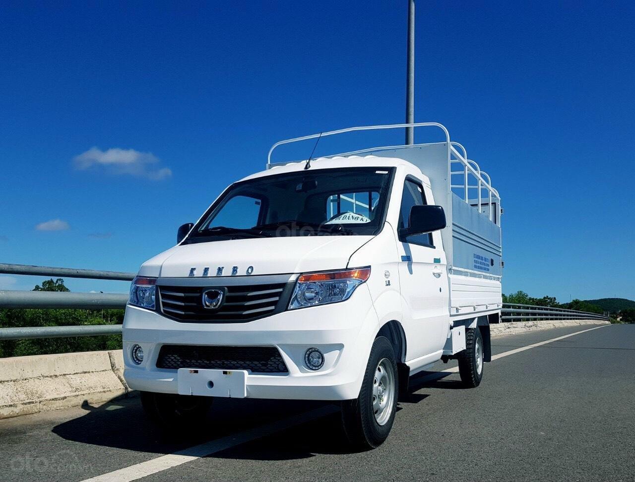 Xe tải Kenbo 990kg thùng bạt giá rẻ hơn cả nhà máy (2)