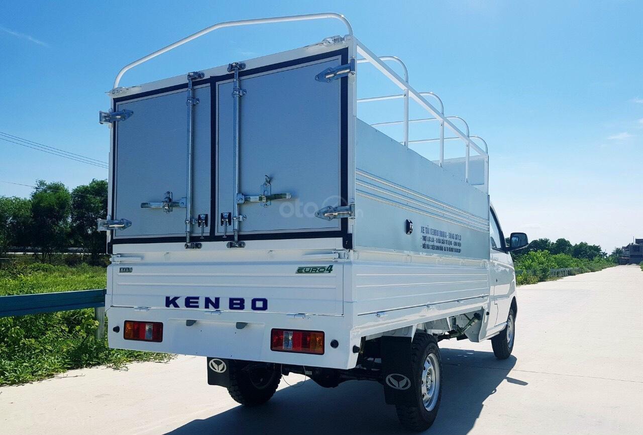 Xe tải Kenbo 990kg thùng bạt giá rẻ hơn cả nhà máy (5)