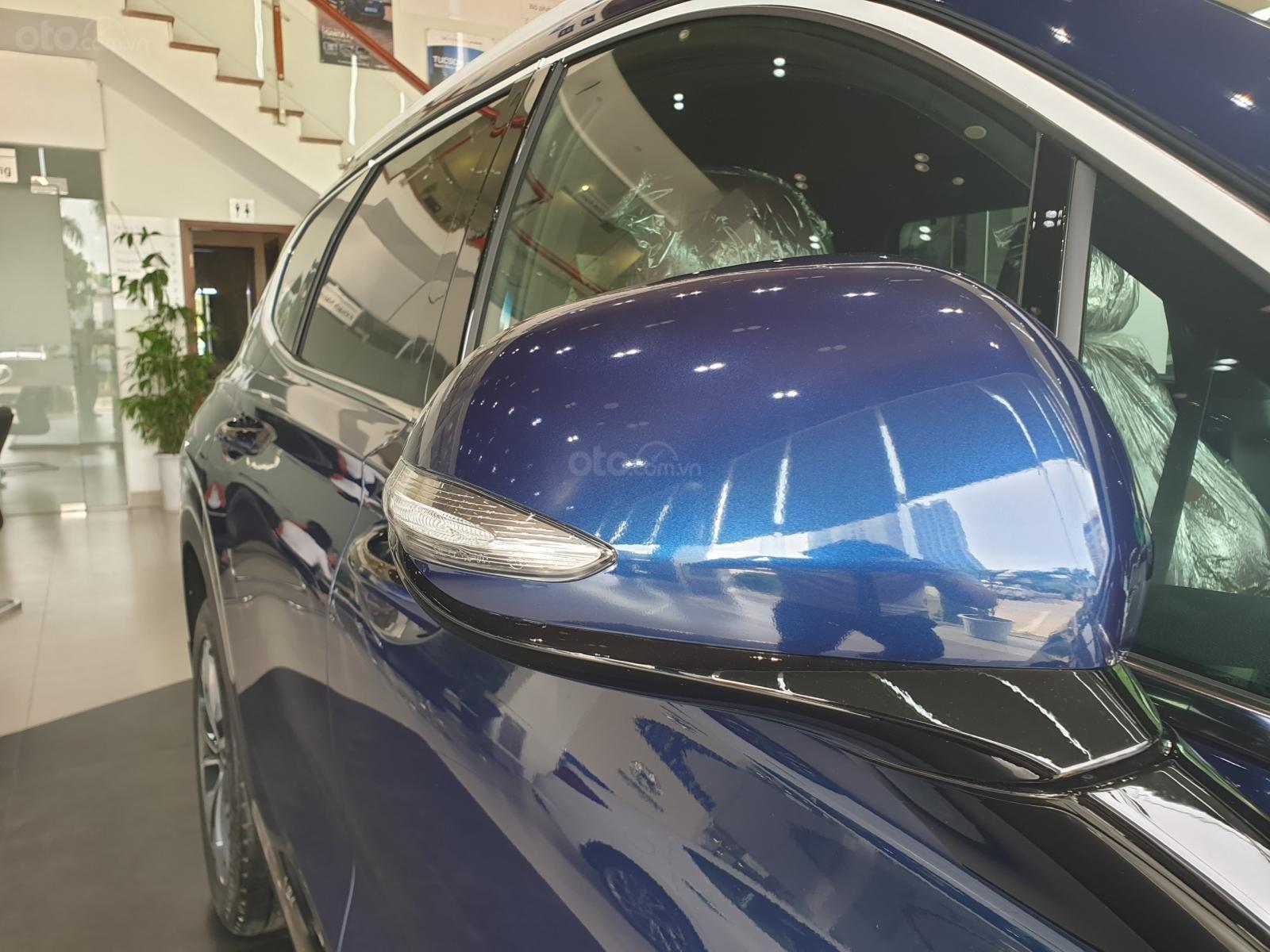 Hyundai Santa Fe, máy dầu, giá cực ưu đãi cho tháng 10 này, giảm trực tiếp tiền mặt lên đến 40tr rẻ nhất Bắc Ninh (4)