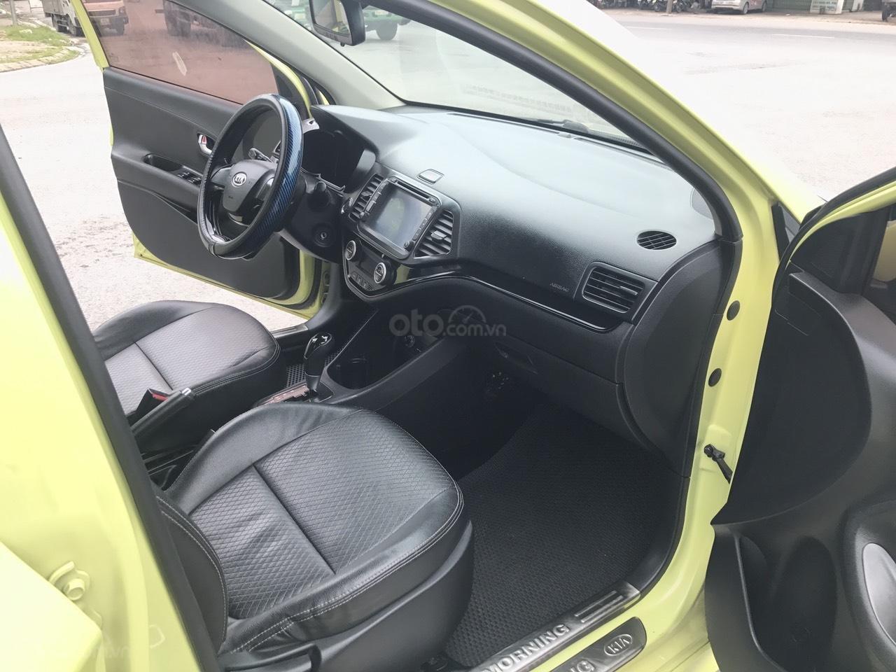 Kia Morning 1.0AT Sport cuối 2011 vàng chanh, 1 chủ, không mới, không đẹp, không chất tặng xe luôn, đẹp nhất thị trường (6)