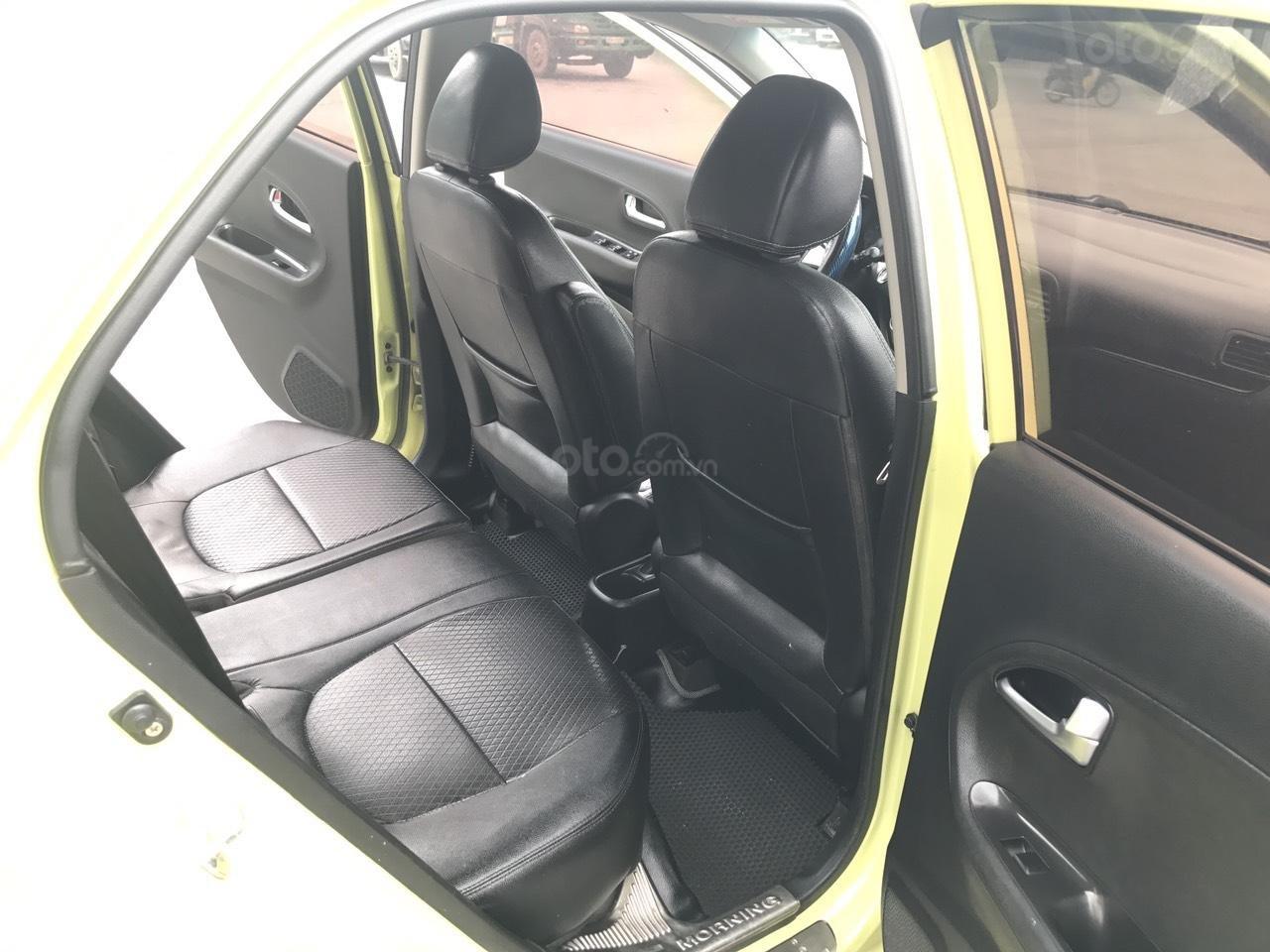 Kia Morning 1.0AT Sport cuối 2011 vàng chanh, 1 chủ, không mới, không đẹp, không chất tặng xe luôn, đẹp nhất thị trường (7)