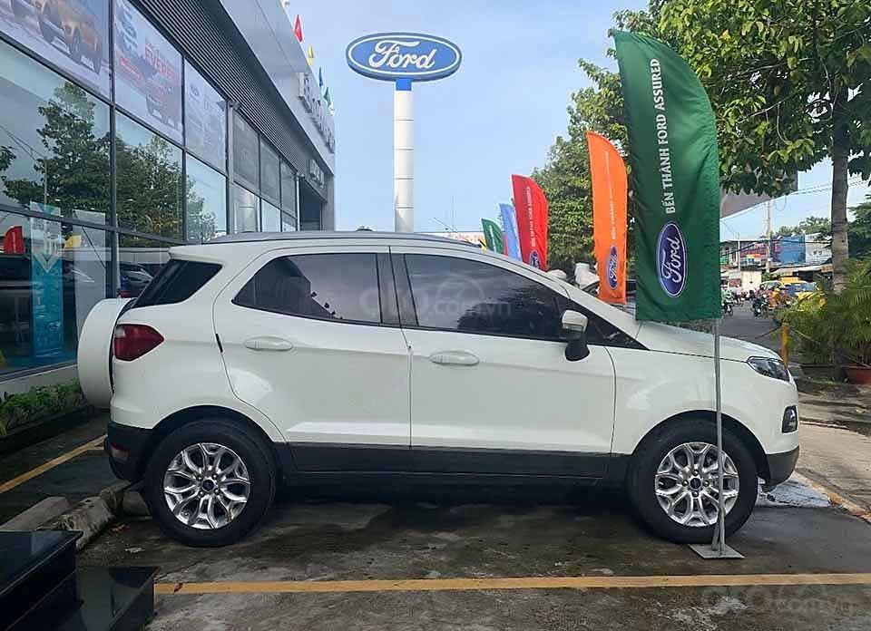 Bán Ford EcoSport sản xuất 2015, màu trắng còn mới, 420 triệu (1)