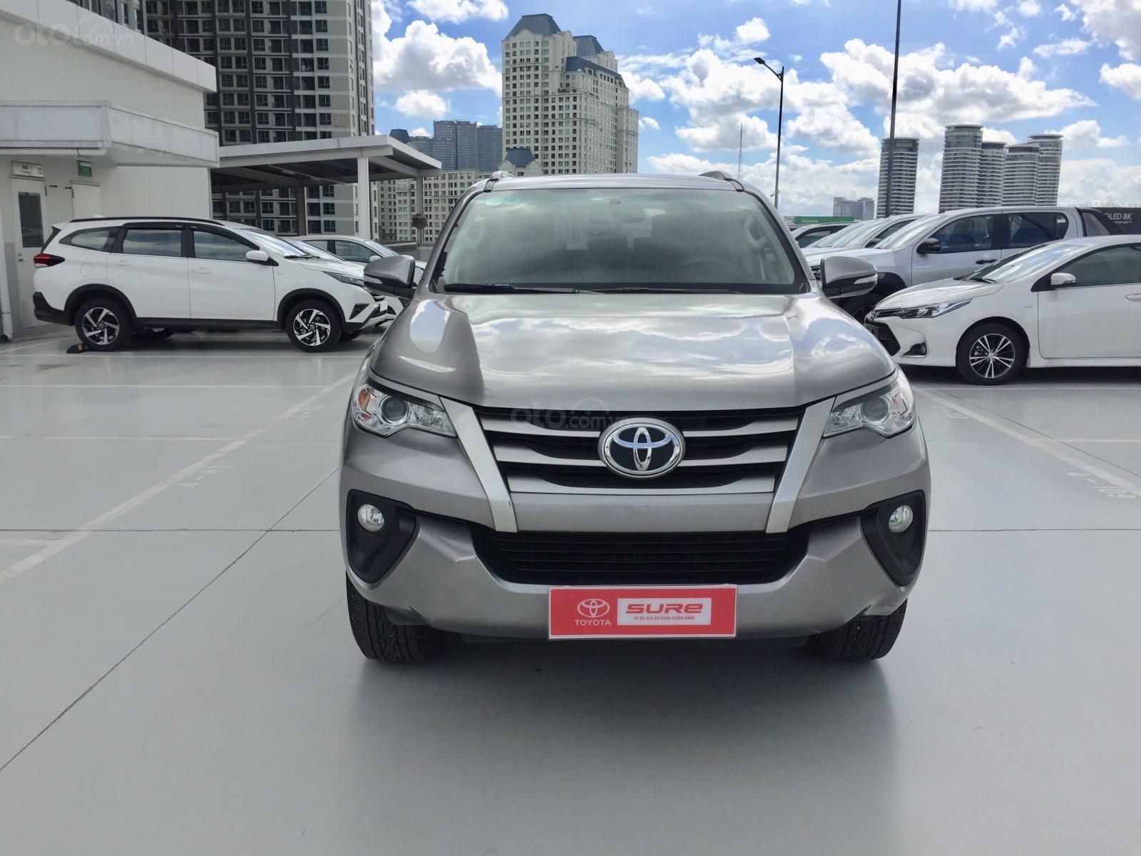 Thanh lý xe Toyota Fortuner 2.4G MT 2017, màu bạc xe đi được 79.000km - Xe chất giá tốt (1)