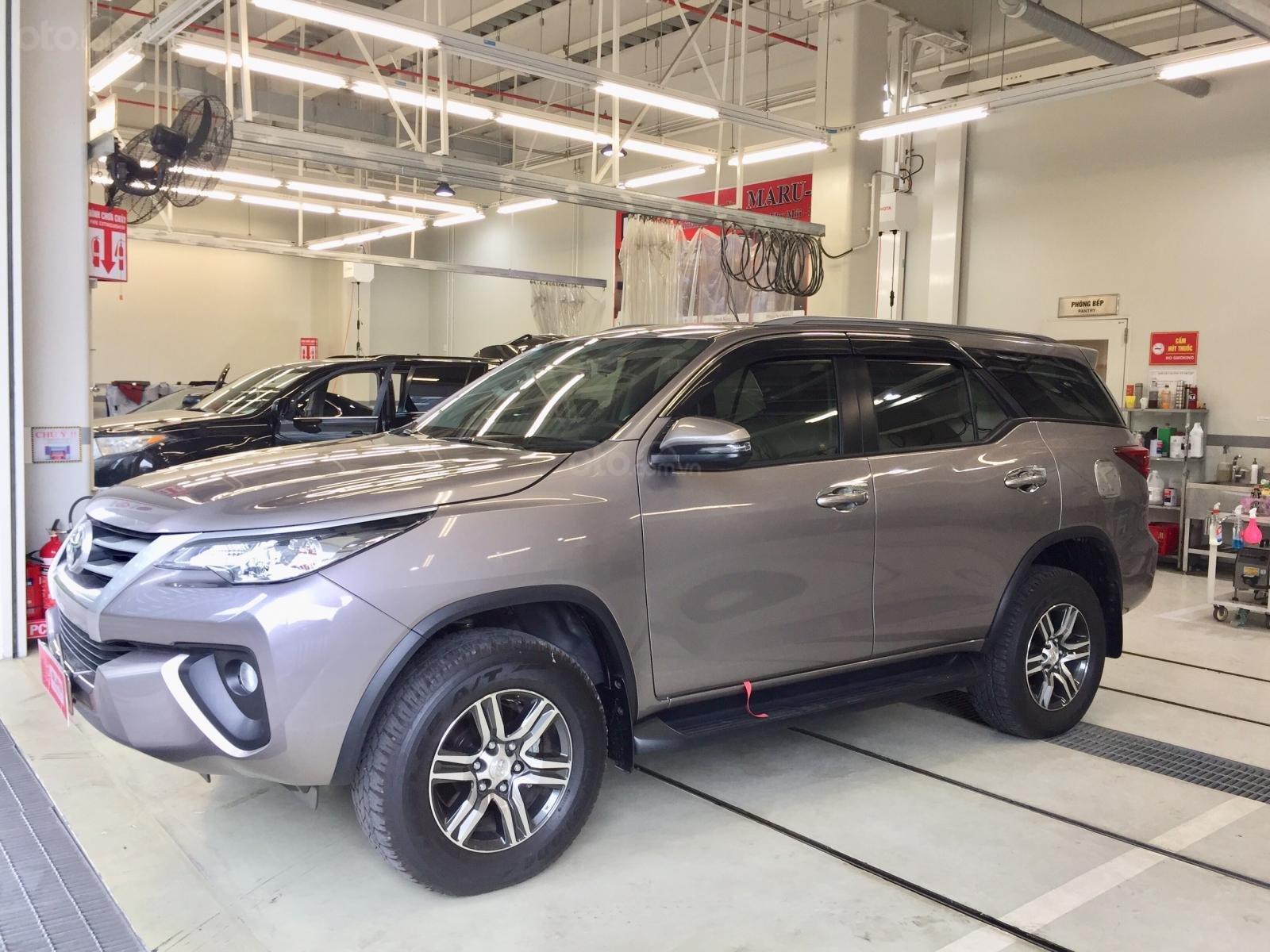 Thanh lý xe Toyota Fortuner 2.4G MT 2019, màu đồng, xe đi được đi 8.700km - xe chất giá tốt (3)