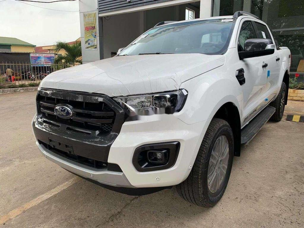 Bán Ford Ranger 2020, màu trắng, nhập khẩu nguyên chiếc (1)