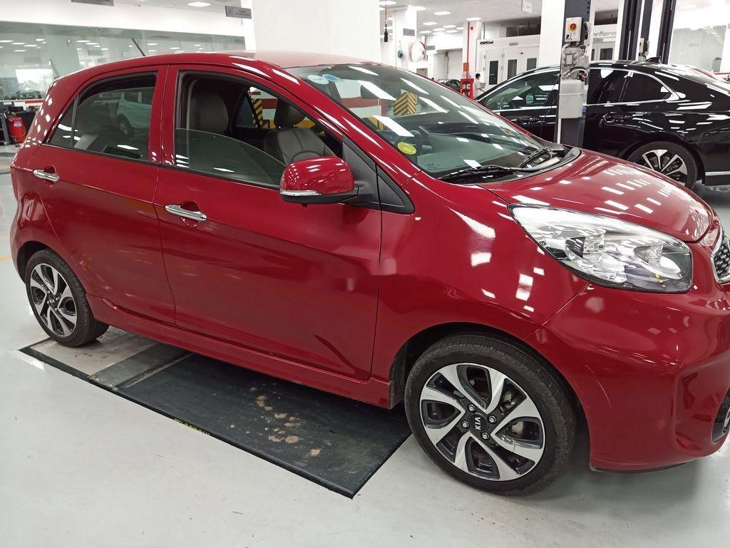 Bán Kia Morning năm sản xuất 2018, màu đỏ, số tự động, giá chỉ 325 triệu (3)