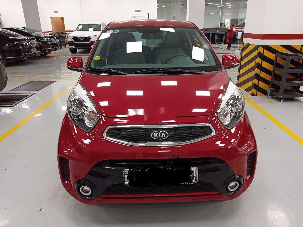 Bán Kia Morning năm sản xuất 2018, màu đỏ, số tự động, giá chỉ 325 triệu (1)